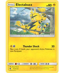 Pokemon Electabuzz - S&M LoThu - 71/214 - Reverse