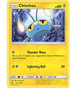 Pokemon Chinchou - S&M LoThu - 73/214