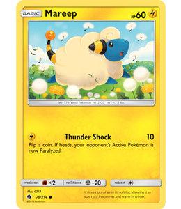 Pokemon Mareep - S&M LoThu - 76/214 - Reverse