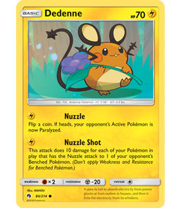 Pokemon Dedenne - S&M LoThu - 84/214
