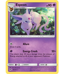 Pokemon Espeon - S&M LoThu - 89/214 - Reverse