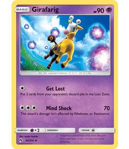 Pokemon Girafarig - S&M LoThu - 94/214 - Reverse