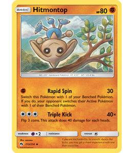 Pokemon Hitmontop - S&M LoThu - 113/214 - Reverse