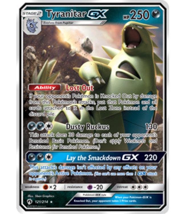 Pokemon Tyranitar GX - S&M LoThu - 121/214