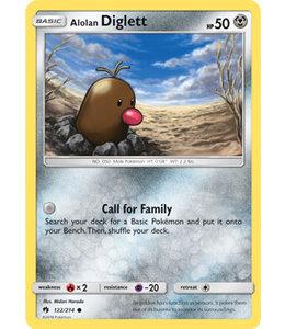 Pokemon Alolan Diglett - S&M LoThu - 122/214