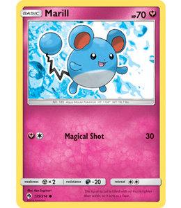 Pokemon Marill - S&M LoThu - 135/214 - Reverse
