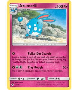Pokemon Azumarill - S&M LoThu - 136/214 - Reverse