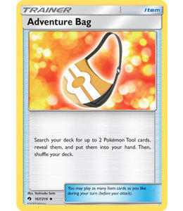 Pokemon Adventure Bag - S&M LoThu - 167/214 - Reverse
