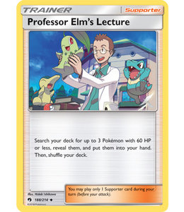 Pokemon Professor Elms Lecture - S&M LoThu - 188/214 - Reverse