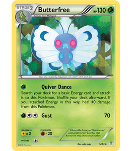 Pokemon Butterfree - Generations - 5/83