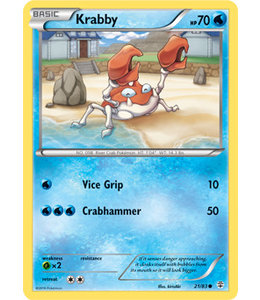 Pokemon Krabby - Generations - 21/83
