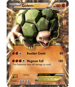 Pokemon Golem EX - Generations - 46/83