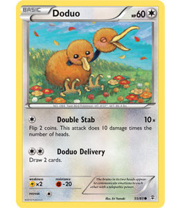 Pokemon Doduo - Generations - 55/83 - Reverse