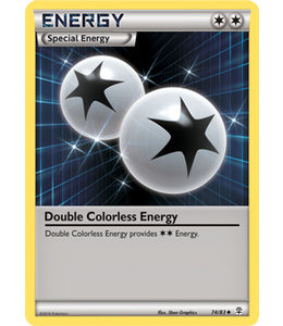 Pokemon Double Colorless Energy - Generations - 74/83 - Reverse