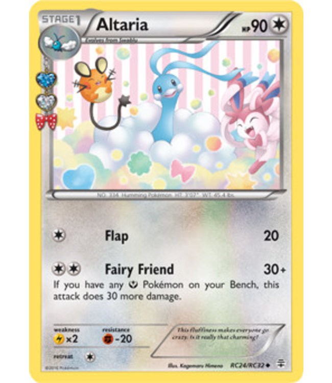 Pokemon Altaria - Generations - RC24/RC32
