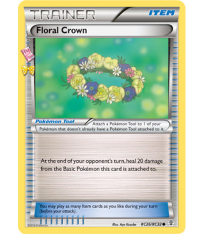 Pokemon Floral Crown - Generations - RC26/RC32