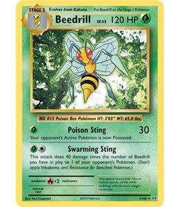 Pokemon Beedrill - Evol. - 7/108 - Reverse