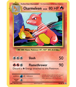 Pokemon Charmeleon - Evol. - 10/108