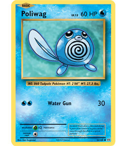 Pokemon Poliwag - Evol. - 23/108