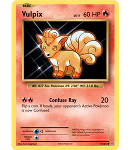Pokemon Vulpix - Evol. - 14/108