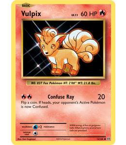 Pokemon Vulpix - Evol. - 14/108 - Reverse