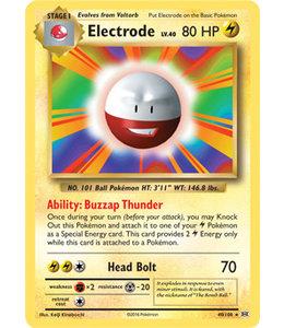 Pokemon Electrode - Evol. - 40/108 - Reverse