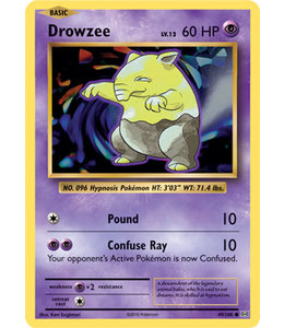 Pokemon Drowzee - Evol. - 49/108
