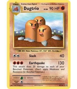 Pokemon Dugtrio - Evol. - 56/108