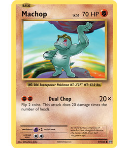 Pokemon Machop - Evol. - 57/108