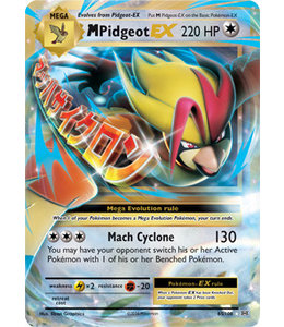 Pokemon Mega Pidgeot EX - Evol. - 65/108