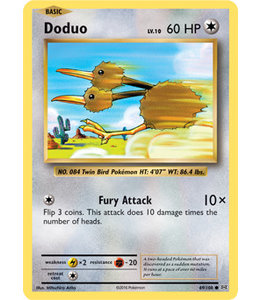 Pokemon Doduo - Evol. - 69/108