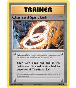 Pokemon Charizard Spirit Link - Evol. - 75/108 - Reverse