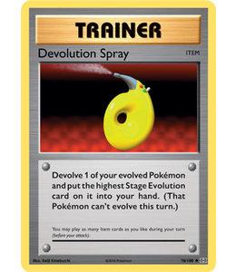 Pokemon Devolution Spray - Evol. - 76/108 - Reverse