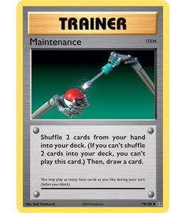 Pokemon Maintenance - Evol. - 79/108 - Reverse