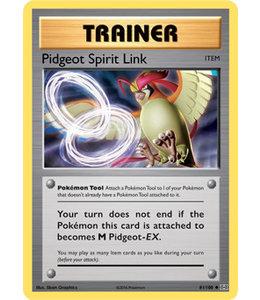 Pokemon Pidgeot Spirit Link - Evol. - 81/108 - Reverse