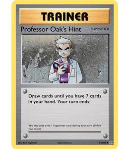 Pokemon Professor Oaks Hint - Evol. - 84/108 - Reverse