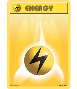 Pokemon Lightning Energy - Evol. - 94/108 - Reverse