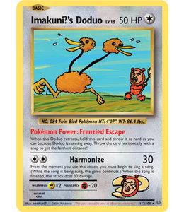 Pokemon Imakuni?s Doduo - Evol. - 112/108