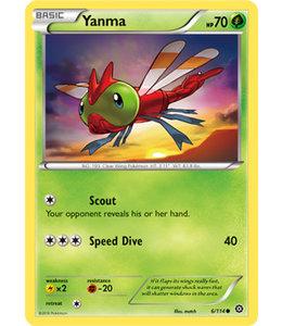Pokemon Yanma - XY StSi - 6/114