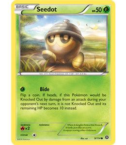 Pokemon Seedot - XY StSi - 9/114 - Reverse