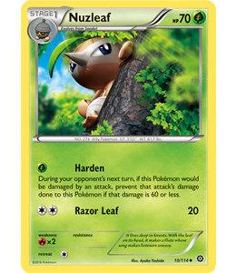 Pokemon Nuzleaf - XY StSi - 10/114