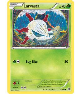 Pokemon Larvesta - XY StSi - 14/114 - Reverse
