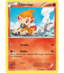 Pokemon Chimchar - XY StSi - 18/114 - Reverse