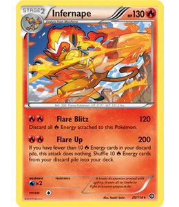 Pokemon Infernape - XY StSi - 20/114