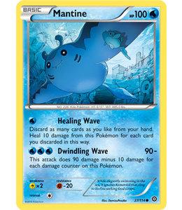 Pokemon Mantine - XY StSi - 27/114 - Reverse