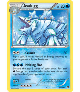 Pokemon Avalugg - XY StSi - 37/114