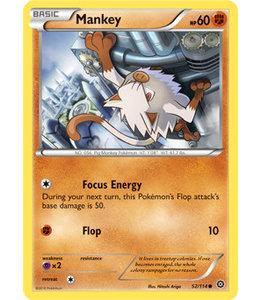 Pokemon Mankey - XY StSi - 52/114 - Reverse