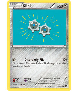 Pokemon Klink - XY StSi - 71/114
