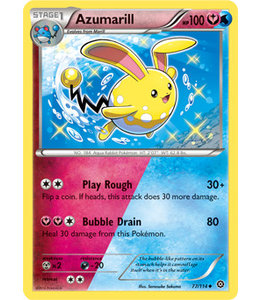 Pokemon Azumarill - XY StSi - 77/114