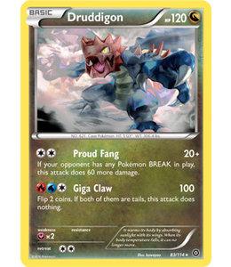 Pokemon Druddigon - XY StSi - 83/114